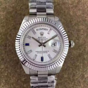 Rolex Day Date stainless steel