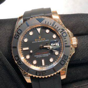 Rolex Yacht Master Replica Super Clone rose gold S29
