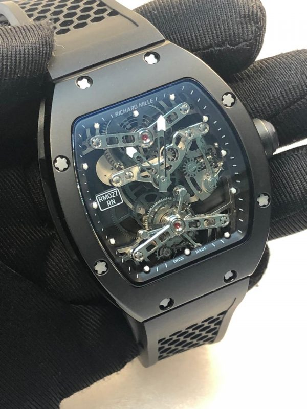 Richard Mille RM27 Tourbillon Titanium Replica (1)