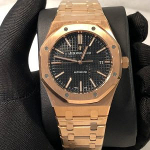 AP Royal Oak 15400 Replica Dubai rosegold black Dial