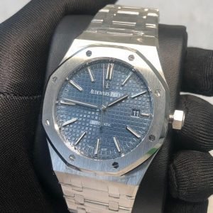 AP Royal Oak 15400 Replica Dubai silver blue Dial